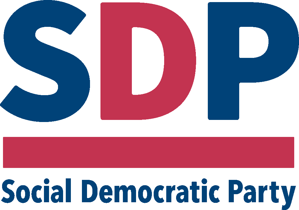 SDP - The Social Democratic Party logo
